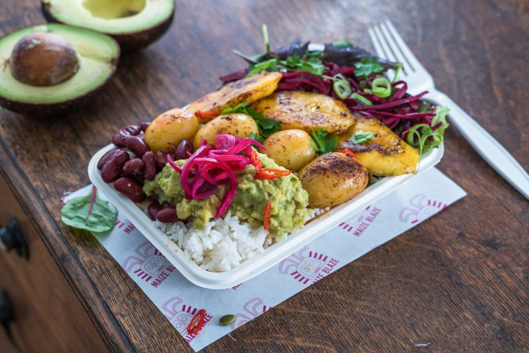 """Tried the lean mean vegan machine dish from Maize Blaze and it was absolutely delicious!"" Jasmine P, St Albans"