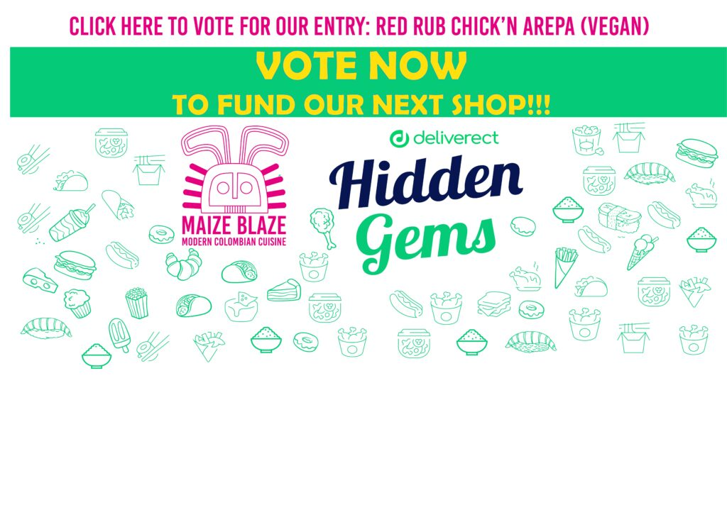 Vote for Red Rub Arepa